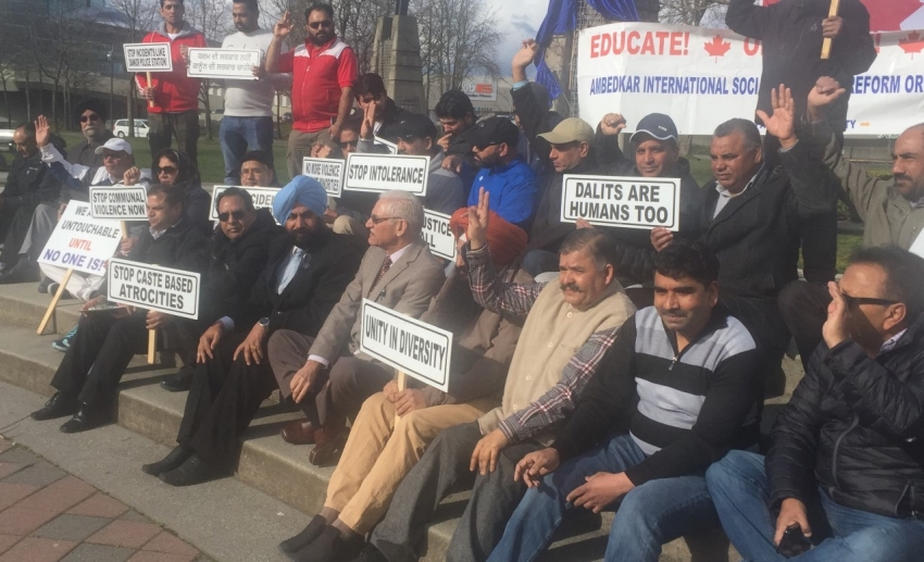 Dalits hold rally in Canada to support Bharat Bandh call