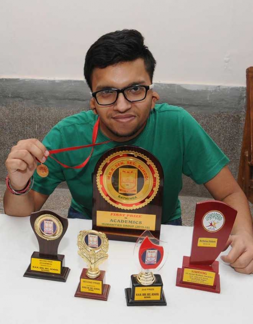 An award winning hearing-impaired Punjabi boy pens poem on COVID 19