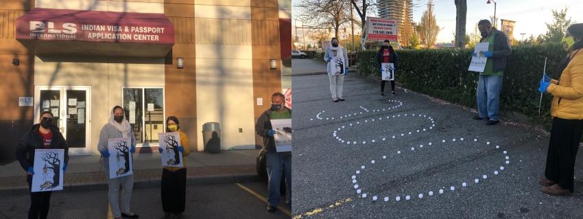 IAPI holds May Day vigil for slain Indian farmers
