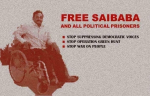 Radical Desi holds rally for Saibaba on the eve of International Day of Persons with Disabilities