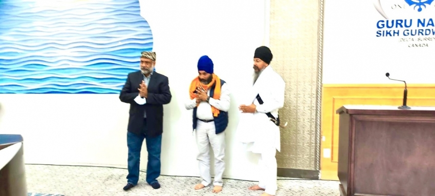 Radical Desi honours Sikh temple president for standing up for Indigenous peoples