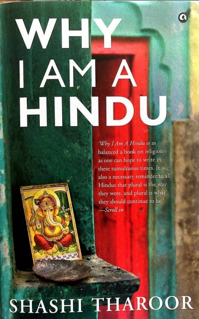 Shashi Tharoor's Why I Am a Hindu details differences between the faith and Narendra Modi's ideology