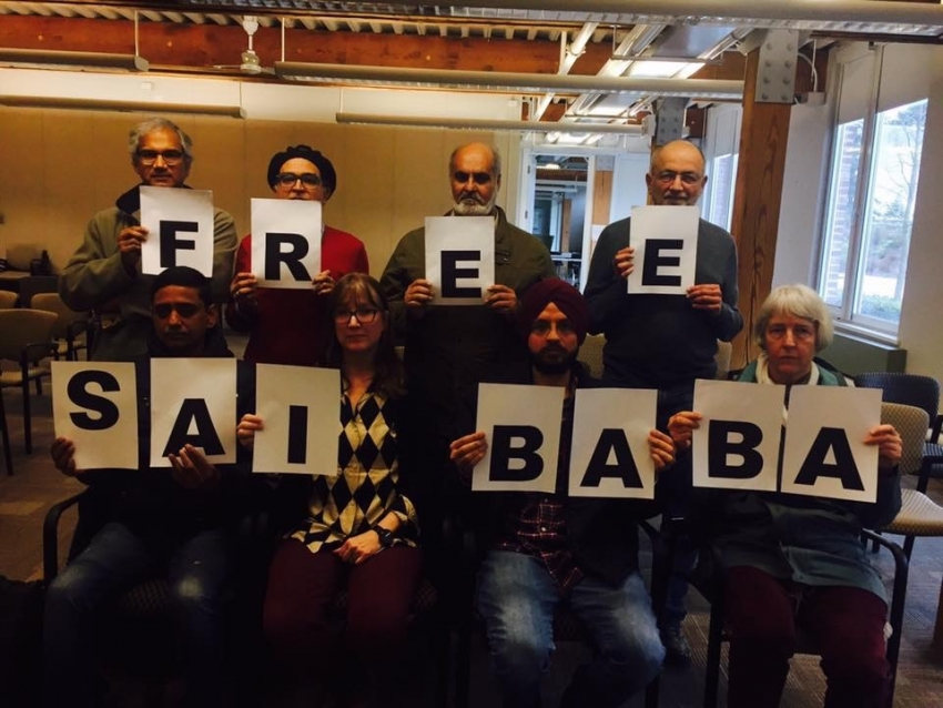 Academia at University of British Columbia raises voice for Professor Saibaba