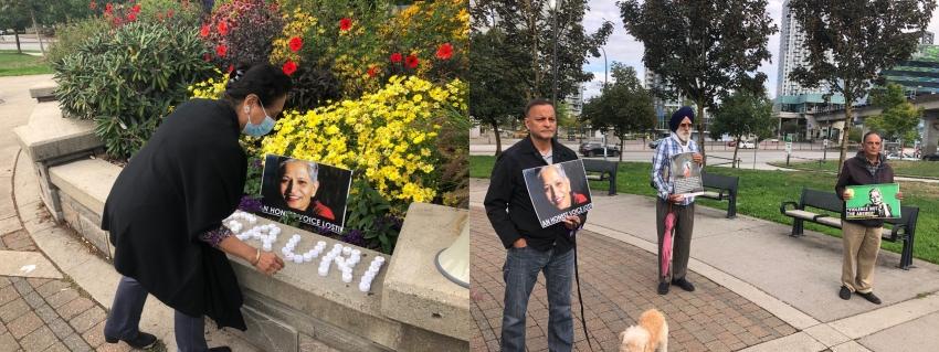 Vigil in memory of Gauri Lankesh held in Canada