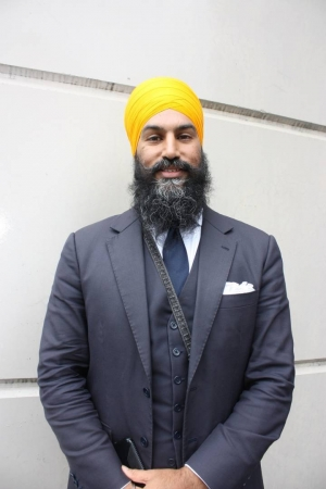 Jagmeet Singh's victory represents defeat of political right in Canada and India