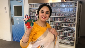 Deepika Singh Rajawat's participation in #HandsAgainstRacism boosts the campaign started by Spice Radio
