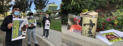 Rally against fascism and attacks on the rights of farmers under Modi held in Canada
