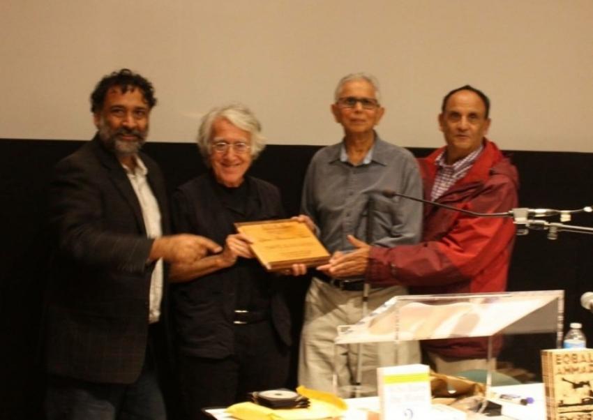 Life Time Achievement Award to David Barsamian