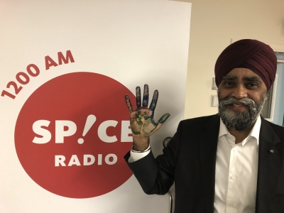 History maker Harjit Singh Sajjan joins campaign against racism