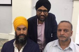 NDP leadership candidate Jagmeet Singh questions if India is destabilizing his campaign