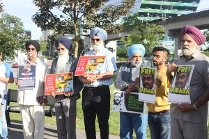 Rally against the killings of protesters in Tamil Nadu held in Canada