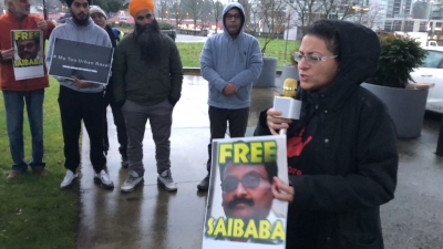 Rally for Saibaba held on the international Day of Persons with Disabilities