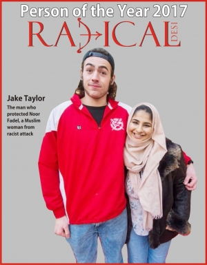 Radical Desi declares Jake Taylor Person of the Year 2017