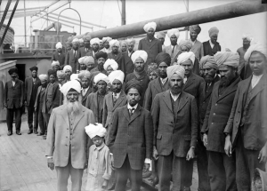 The Komagata Maru brought 376 Sikhs, Hindus, and Muslims to Canada, but more than 350 were forced to go back to India.