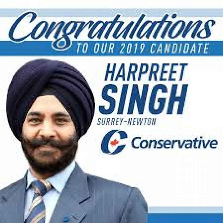Conservative candidate takes stand against Harper's statement on Khalistan