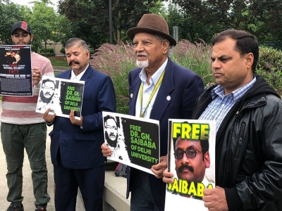 Rally against arrests of activists in India held in Canada