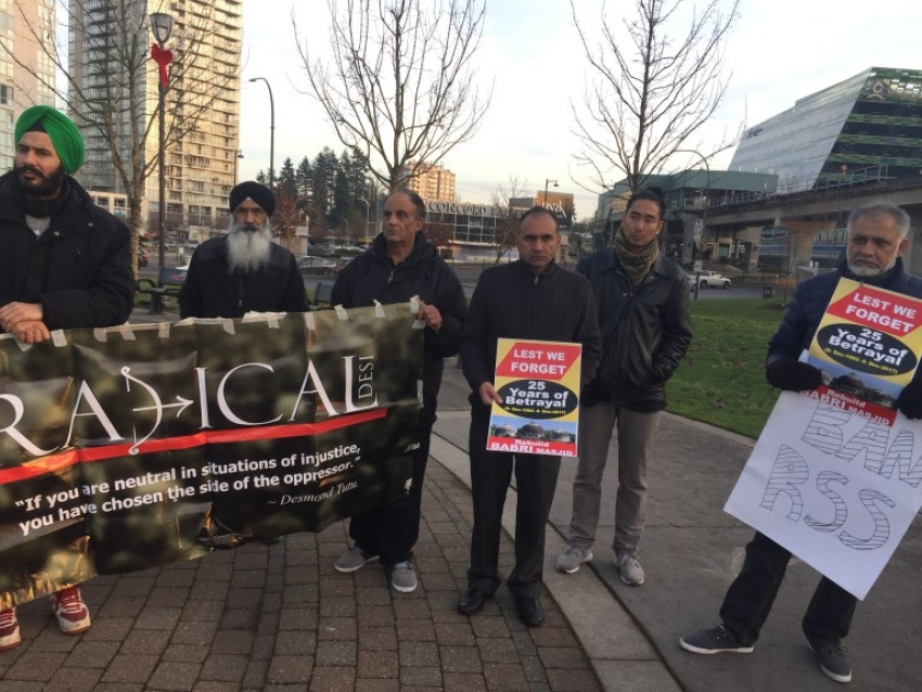 Rally for Babri episode held in Canada