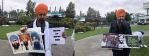 Rally for political prisoners held at Surrey Gurdwara