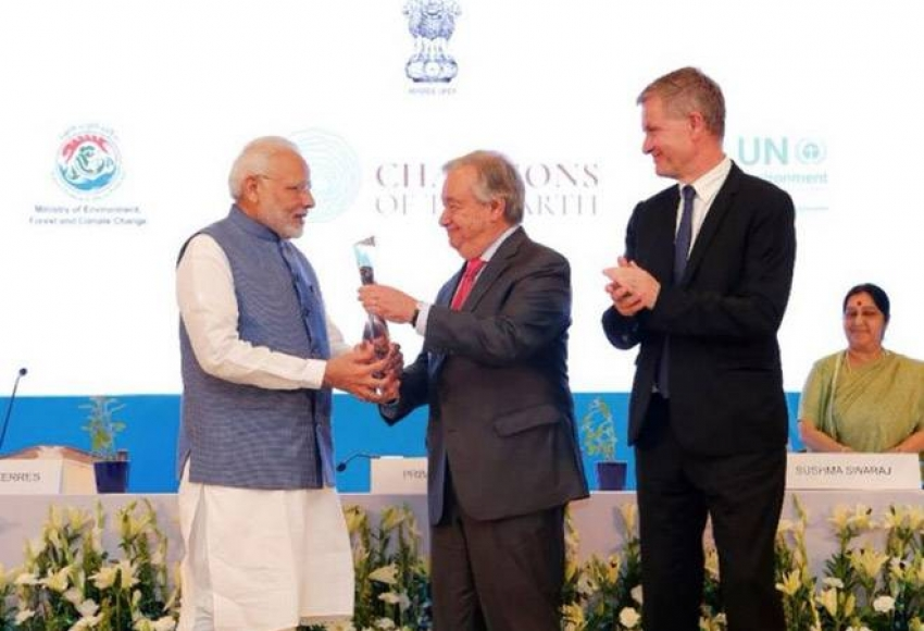 UN should rethink its decision to give Champions of the Earth Award to Modi